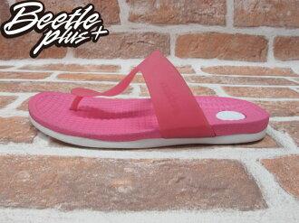 BEETE PLUS 西門町 NATIVE BLANCA 超輕量 HOLLYWOOD PINK WITH SHELL WHITE 夾腳 拖鞋 粉紅 白 防水 GLM12B-697