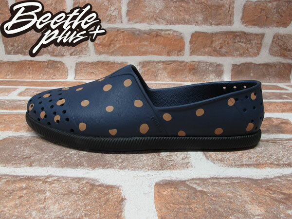 BEETLE PLUS 全新 2013 秋冬 NATIVE VERONA REGATTA BLUE POLKA DOTS 深藍 點點 圓點 波點 水玉 GLM18-483 0