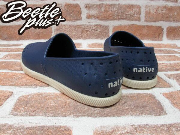 《限時6折免運》BEETLE PLUS 西門町專賣店 全新 NATIVE VERONA 水手鞋 超輕量 深藍 REGATTA BLUE GLM18-485 2