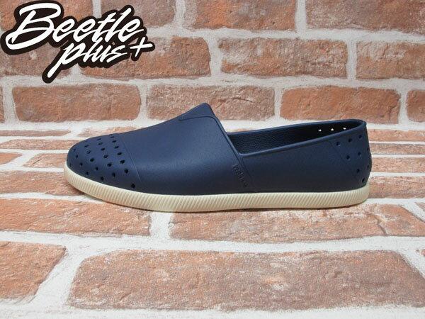 《限時6折免運》BEETLE PLUS 西門町專賣店 全新 NATIVE VERONA 水手鞋 超輕量 深藍 REGATTA BLUE GLM18-485 0