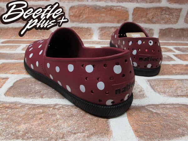 《下殺$1499》BEETLE PLUS 全新 2013 秋冬 NATIVE VERONA ARMADA RED POLKA DOTS 艦艇紅 酒紅 點點 圓點 波點 水玉 GLM18-933 2