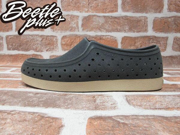 BEETLE PLUS 西門町經銷 秋冬 NATIVE CORRADO DUBLIN GREY LEATHER 抗菌 灰 麂皮 袋鼠鞋 GLM03-076 0