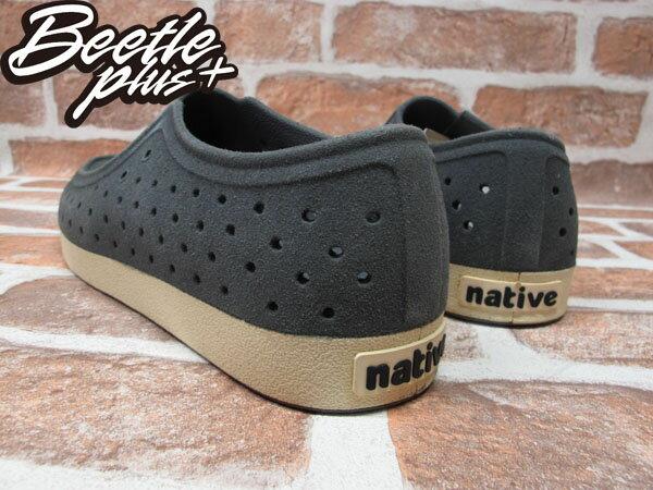 BEETLE PLUS 西門町經銷 秋冬 NATIVE CORRADO DUBLIN GREY LEATHER 抗菌 灰 麂皮 袋鼠鞋 GLM03-076 2