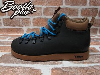 《下殺$1699》BEETLE PLUS 現貨 NATIVE FITZSIMMONS BOOTS JIFFY BLACK WITH TOBACCO BROWN 黑 咖啡 雙色 登山靴 GLM06-01..