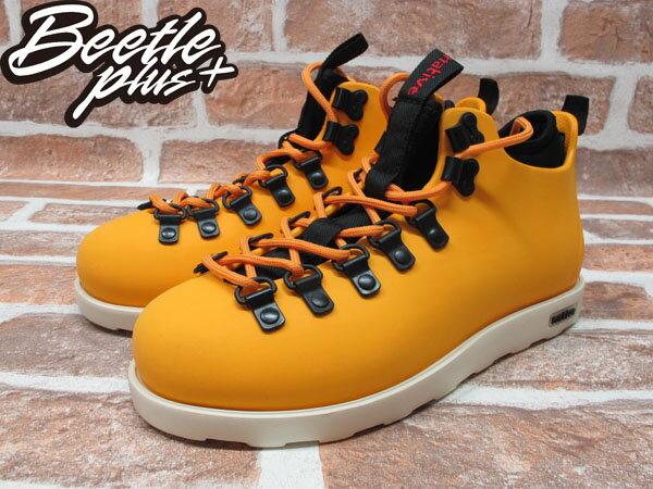 西門町專賣 BEETLE PLUS 全新 加拿大 NATIVE FITZSIMMONS BOOTS POPSICLE ORANGE 橘 超輕量 登山靴 GLM06-841 1