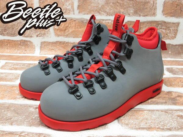 西門町專賣 BEETLE PLUS 全新 加拿大 NATIVE FITZSIMMONS BOOTS 灰紅 超輕量 登山靴 GLM06-964 1