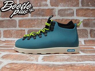 《下殺$1699》BEETLE PLUS NATIVE FITZSIMMONS GLORY BLUE 湖水藍 螢光 綠 超輕量 登山靴 GLM06P-425