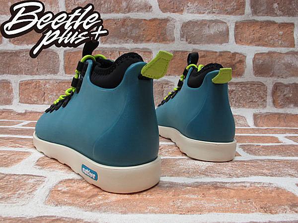 《限時6折免運》BEETLE PLUS NATIVE FITZSIMMONS GLORY BLUE 湖水藍 螢光 綠 超輕量 登山靴 GLM06P-425 2