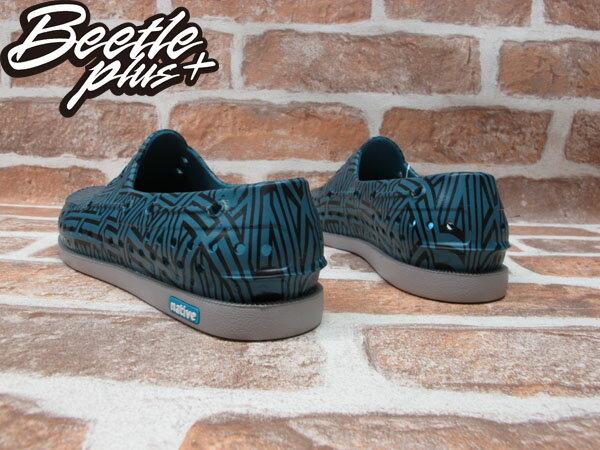 BEETLE PLUS 全新 經銷商 2014 春夏最新 NATIVE HOWARD 灰 藍黑 土耳其 幾何 特殊 帆船鞋 GLM11P-992 2