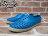 《下殺$1499》女鞋 BEETLE PLUS 現貨 全新 2014 春夏 NATIVE JERICHO GALAXY BLUE 蠟筆藍 奶油底 超輕量 洞洞鞋 GLM04W-402 1