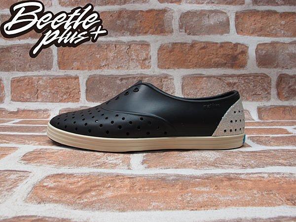 《限時6折免運》女鞋 BEETLE PLUS 現貨 全新 NATIVE JERICHO TINFOIL SLIVER 黑銀 銀蔥 亮片 超輕量 GLM04WP-035 0