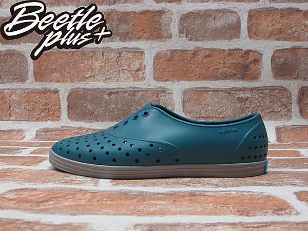 《下殺$1499》女鞋 BEETLE PLUS 現貨 全新 NATIVE JERICHO FADED GLORY BLUE 湖水藍 阿帆達 綠灰 超輕量 女鞋 GLM04W-425