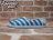 《下殺$1499》BEETLE PLUS 全新 2014 春夏 NATIVE VERONA SHELL WHITE  /  GALAXY BLUE STRIPES 藍白 條紋 海軍風 GLM18-106 0
