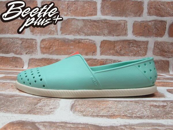 BEETLE PLUS 西門町專賣店 2014 全新 NATIVE VERONA FRESCO GREEN水手鞋 超輕量 綠 橘 GLM18-334