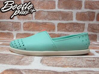 《下殺$1499》BEETLE PLUS 西門町專賣店 2014 全新 NATIVE VERONA FRESCO GREEN水手鞋 超輕量 綠 橘 GLM18-334