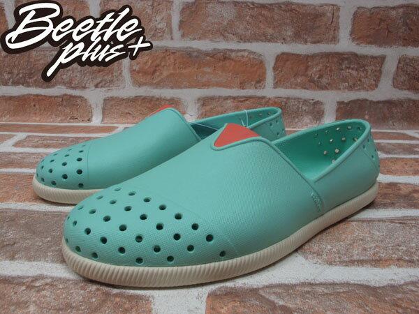 BEETLE PLUS 西門町專賣店 2014 全新 NATIVE VERONA FRESCO GREEN水手鞋 超輕量 綠 橘 GLM18-334 1