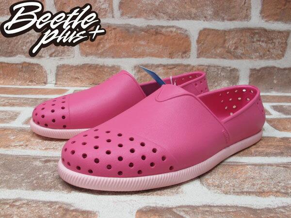 BEETLE PLUS 西門町 專賣店 NATIVE VERONA HOLLYWOOD PINK 水手鞋 粉紅 櫻桃 草莓優格 馬卡龍 GLM18-698 1