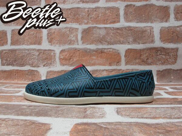 BEETLE PLUS 經銷商 2014 春夏最新 NATIVE VERONA 黑 暗紅 土耳其 幾何 奶油底 水手鞋 TOMS GLM18P-994 0