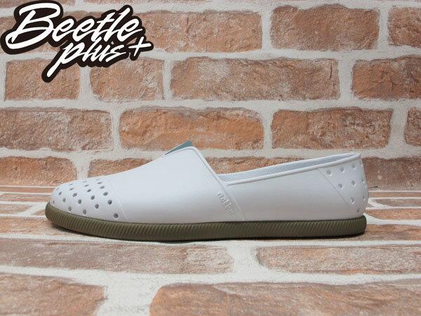 《下殺$1499》BEETLE PLUS 2014 NATIVE VERONA 水手鞋 超輕量 SHELL WHITE / BOOTCAMP BROWN 白 墨綠咖啡 GLM18-104 0