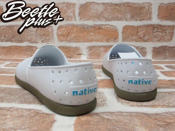 《下殺$1499》BEETLE PLUS 2014 NATIVE VERONA 水手鞋 超輕量 SHELL WHITE / BOOTCAMP BROWN 白 墨綠咖啡 GLM18-104 2