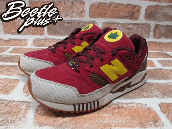 BEETLE PLUS NEW BALANCE M530KH KITH NYC CENTRAL PARK M530KH 店舖限定 楓葉 中央公園 酒紅 黃 1