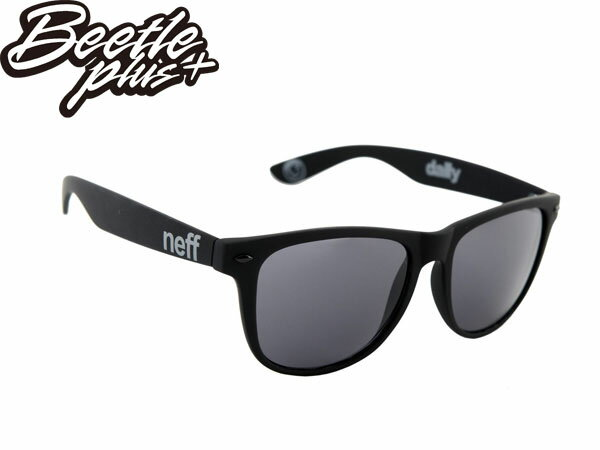 BEETLE PLUS 美國潮牌 NEFF SUNGLASS DAILY SHADES MATTE BLACK 消光 黑色 太陽眼鏡 E-07 1