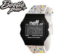 《全面下殺$799》BEETLE NEFF FLAVA XL SURF WATCH 彩虹 潑墨 糖果 白黑 黑白 彩色 防潑水 電子錶 手錶