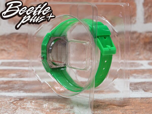 BEETLE PLUS 西門町經銷 現貨 美國潮牌 NEFF FLAVA GREEN WATCH 螢光綠 電子錶 防潑水手錶 NF-22 2