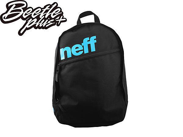 BEETLE PLUS NEFF DAILY BACKPACK 素面 黑 藍 LOGO 後背包 SPRAYGROUND NF-102