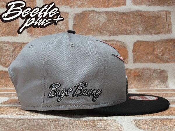 BEETLE PLUS 全新 NEW ERA SNAPBACK 兔寶寶 FACE BUNNY 卡通 電繡立體 灰黑 後扣棒球帽 NE-72 1