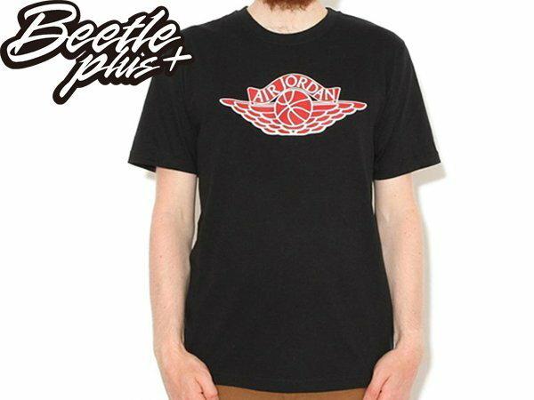 BEETLE PLUS NIKE AIR JORDAN WINGS LOGO 1代 黑紅 白紅 芝加哥 翅膀 喬丹 飛人 TEE 657510-010