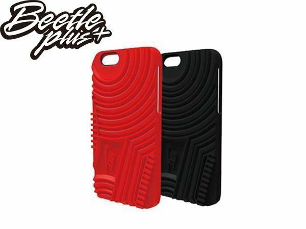 BEETLE PLUS NIKE AIR FORCE 1 IPHONE 6 CASE 全黑 全紅 黑紅 大底 鞋底 日本限定 特殊款 手機殼 保護套 軟殼 SWOOSH AC3767