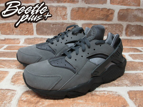 BEETLE PLUS NIKE AIR HUARACHE COOL GREY 全灰 武士 忍者鞋 318429-082 1