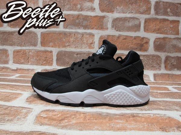 BEETLE PLUS WMNS NIKE AIR HUARACHE RUN 黑白 武士 女鞋 輕量 限量 GD 慢跑鞋 634835-006 0