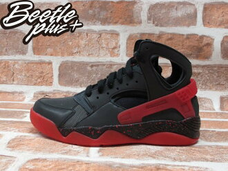 BEETLE NIKE AIR FLIGHT HUARACHE 3M 反光 黑紅 黑武士 忍者鞋 686203-001