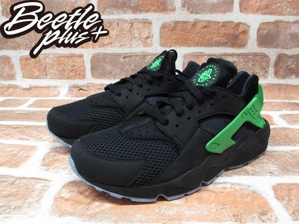 BEETLE PLUS NIKE AIR HUARACHE RUN FB 歐洲限定 毒藥綠 黑綠 武士鞋 忍者鞋 慢跑鞋 塞爾提克 705070-001 1