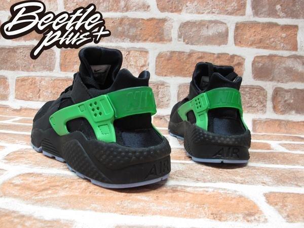 BEETLE PLUS NIKE AIR HUARACHE RUN FB 歐洲限定 毒藥綠 黑綠 武士鞋 忍者鞋 慢跑鞋 塞爾提克 705070-001 2