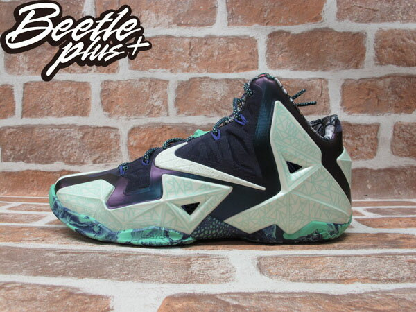 BEETLE PLUS 全新 NIKE LEBRON XI LBJ 11 AS ALL STAR 夜光 明星賽配色 男鞋 647780-735 0