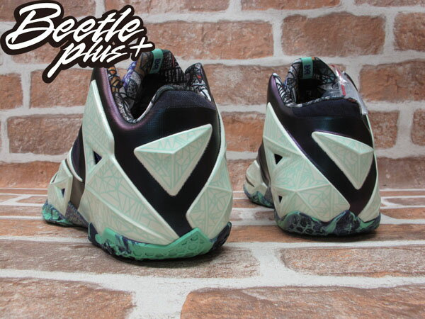 BEETLE PLUS 全新 NIKE LEBRON XI LBJ 11 AS ALL STAR 夜光 明星賽配色 男鞋 647780-735 2