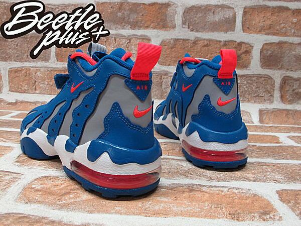 BEETLE PLUS AIR DT MAX'96 GS 灰籃 魔鬼氈 火焰 爪痕 大氣墊 籃球鞋 616502-400 2