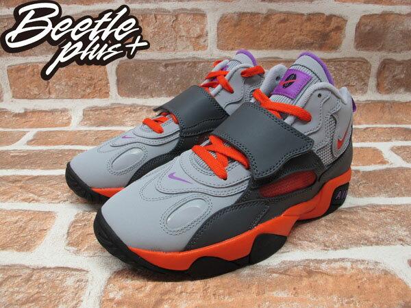 BEETLE PLUS NIKE AIR SPEED TURF GS TRAINER 灰 橘粉 女鞋 籃球鞋 535735-085 1