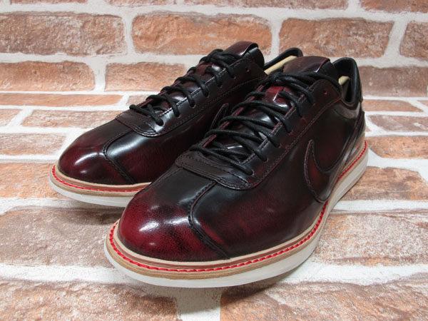 BEETLE PLUS 全新 NIKE SPORTWEAR 1972 QS NSW 車縫鞋底 皮革 皮鞋 酒紅 586367-600 1