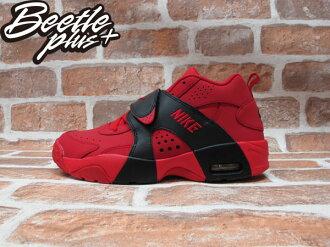 BEETLE PLUS NIKE AIR VEER GS 紅黑 魔鬼氈 麂皮 女鞋 599213-600 D-092