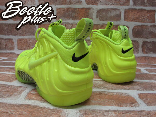 BEETLE PLUS NIKE AIR FOAMPOSITE PRO VOLT 螢光黃 太空鞋 624041-700 2