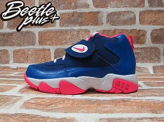 BEETLE PLUS NIKE AIR MISSION 水藍 粉紅 魔鬼氈 藍莓 氣墊 女鞋 630911-400