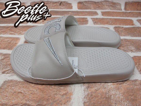 BEETLE PLUS NIKE WMNS BENASSI JDI PRINT QS 城市 紐約 拖鞋 715870-009 1