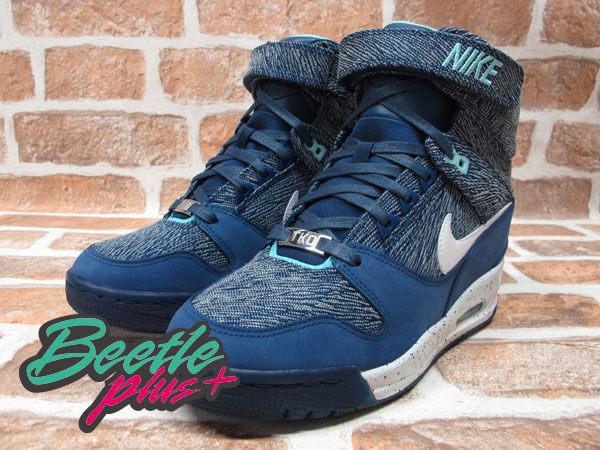 BEETLE PLUS 全新 NIKE WMNS AIR REVOLUTION SKY HI CITY 城市限定 TOKYO 東京 牛仔布紋 楔型 女鞋 內增高 633525-400 1