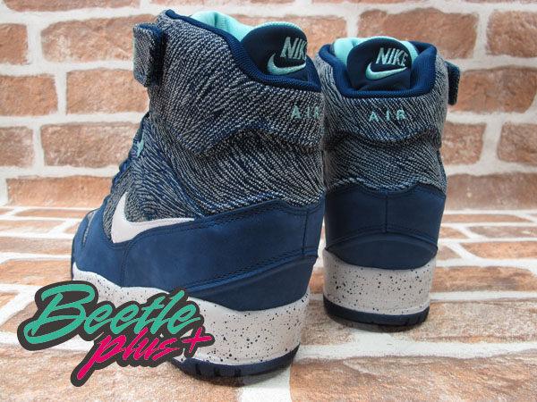 BEETLE PLUS 全新 NIKE WMNS AIR REVOLUTION SKY HI CITY 城市限定 TOKYO 東京 牛仔布紋 楔型 女鞋 內增高 633525-400 2