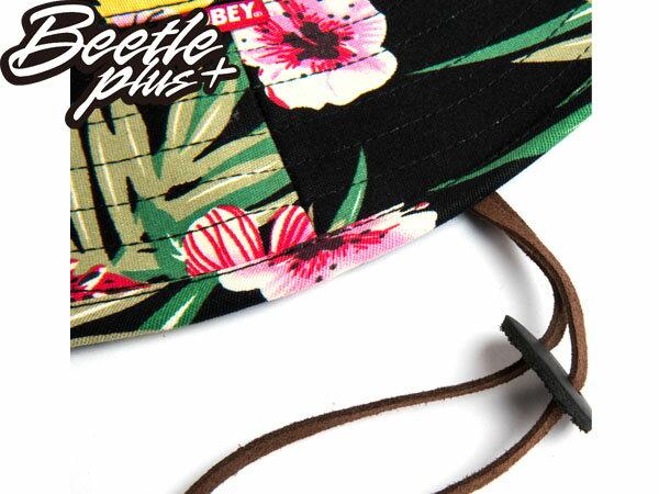 BEETLE PLUS 全新 美國品牌 OBEY BOONTS HAT FLORAL 漁夫帽 花瓣 紅 黑 雙色 春夏款 男女適用 100140106FOL 1