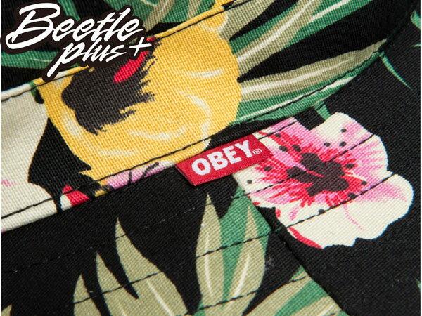 BEETLE PLUS 全新 美國品牌 OBEY BOONTS HAT FLORAL 漁夫帽 花瓣 紅 黑 雙色 春夏款 男女適用 100140106FOL 2
